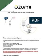 Como Conectar AFO5 en Modo Bridge Con Mikrotik
