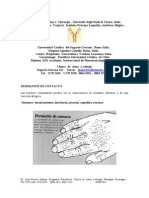 Dermatitis de Contacto, Manos y Cara