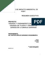 Resumen Ejecutivo Granja Sarango