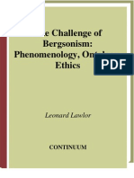 9215-The Challenge of Bergson Ism
