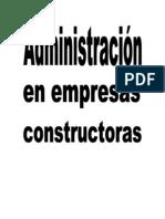 Admin is Trac Ion de Empresas Constructor As