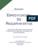 Ejemplo Especificacion de Requerimientos de Software