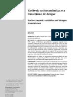 Variaveis socioeconomicas e a transmissão da dengue - Adriano Mondini - Francisco Chiaravolloti Neto