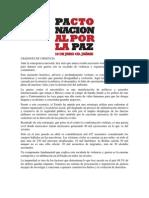 110610_Pacto Nacional Por La PAZ