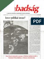 A Szabadság 1990/5. szám