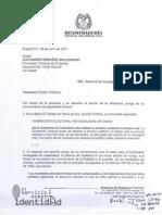 Carta al Procurador