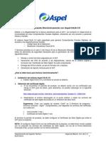 Facturando Electronicamente Con Aspel-CAJA 3.0