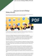 Agenda Estratégica para un Nuevo Dialogo Publico Privado-Estrategias y Negocios