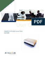 Proxim Orinoco AP-2000-User Guide