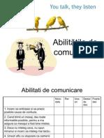 Abilitati de Comunicare&Conflictul