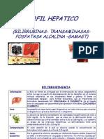 Perfil Hepatico 5bsolo Lectura5d