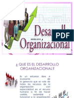 DESARROLLO ORGANIZACIONAL DIAPOSITIVAS