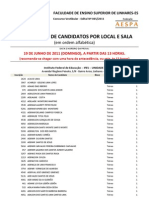 Candidatos Por Locais e Salas FACELI