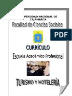 CURRICULO E.A.P. TURISMO Y HOTELERÍA 1