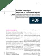 accidentes inmunológicos en trasfusión