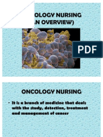 Oncology Nursing Overview
