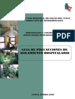 GUIA AISLAMIENTO HOSPITALARIO
