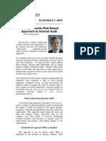 RCN Article Moving Towards Risk Based Audit_1st Part