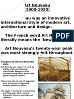 Art Nouveau 6th Sem