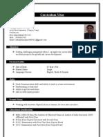 Updated Nikunj Resume