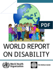 World Report on Disability 2011 Easy Read