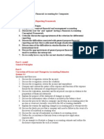 Financial Accounting for Companies