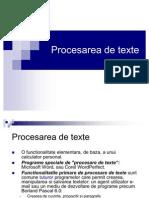CursProcesareTexte
