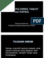 Pulvis Pulveres Tablet Ok