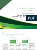 Programa Desarrollo Local Con Sustentabilidad