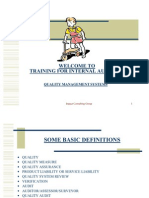 Training for Internal Auditor- New