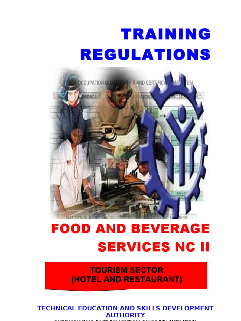 Tr F U0026 B Services Nc II   Occupational Safety And Health   Competence  (Human Resources)