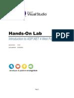ASP Net Web Forms 4