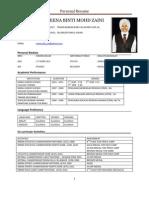 Resume MRSM