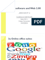 Assignment 3e- Social software and Web 2.00