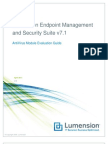 LEMSS AntiVirus Total Track Evaluation Guide