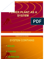 Power Plant as a System