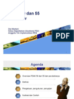 PSAK 50 Dan 55 Overview