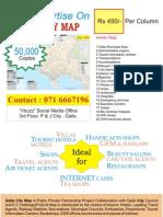 Galle City Map SriLanka Ads
