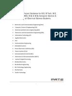 Pantech Project Booklet 2010-11