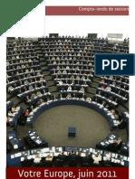 Bilan de La Session Juin 2011
