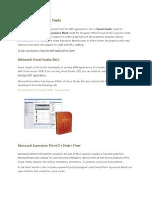 WPF | Extensible Application Markup Language | Windows
