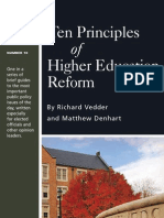 10 Principles Higher Ed
