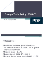 Foreign Trade Policy 2004-09