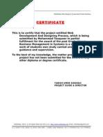 2nd page-project on web development & design process