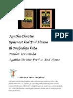Agata Kristi-Opasnost Kod End Hausa