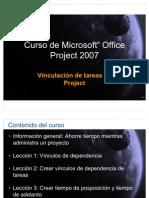 Project Vincular Tareas