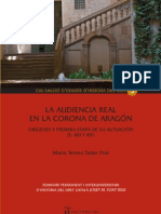La Audiencia Real Corona de Aragon