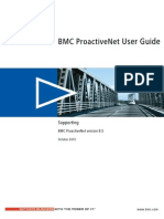 Proactive Net User Guide v8.5