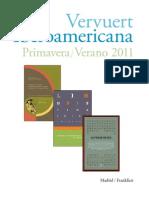 Iberoamericana Vervuert Primavera 2011