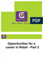 Opportunities for a Career in Retail - Part 2